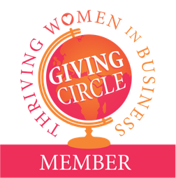 Thriving Women in Business Giving Circle Member